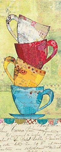 WANDAFBEELDING-op-CANVAS-Kom-voor-de-koffie-Prahl-Courtney-Keuken-Print-op-canvas-op-houten-frame-voor-wanddecoratie-Afbeelding-gedruckt-op-ingelijst-canva-Afmeting-96_X_38_cm