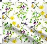 Biene, Bienenstock, Wildblume, Löwenzahn, Schmetterling,