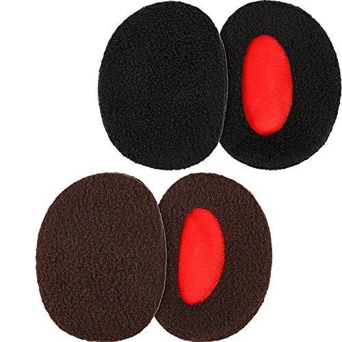 SATINIOR 2 Paar Bandlose Ohrenwärmer Ohrenschützer Warme Ohrenschützer für Männer und Frauen (Mittel)