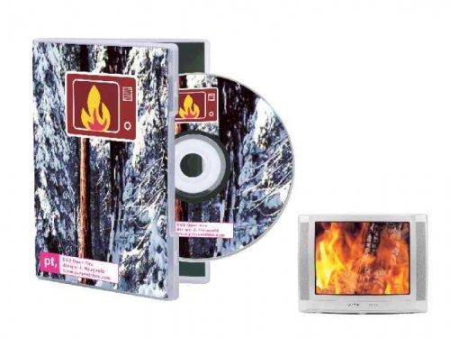 Geschenkbox Kaminfeuer-DVD mit knisterndem Kamin-Feuer für Entspannung und Wellness zu Hause