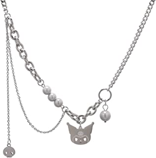 Necklaces قلادة البساطة، قلادة زوجين شخصية، قلادة النمذجة، القلائد النسائية Necklace for Women