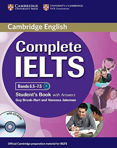 Complete IELTS Bands 6.5-7.5 Student's Book with Answers with CD-ROM [Lingua inglese]