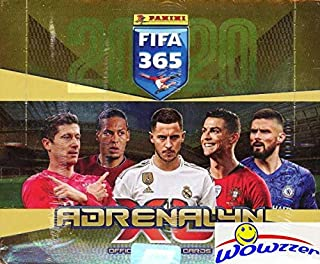 2020 Panini Adrenalyn XL FIFA 365 HUGE 24 Pack Factory Sealed Booster BOX with 144 Cards! Look for Stars including Lionel Messi, Ronaldo, Kylian Mbappe, Neymar & More! Imported from Europe! WOWZZER!