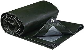 ASKLKD 2x3m étanche Heavy Duty Tarpaulin- Maison et jardin vert Tarp feuille - Couverture Premium Quality Made de 180gsm B...