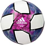 adidas MLS Capitano Soccer Ball White/Black/Purple 5