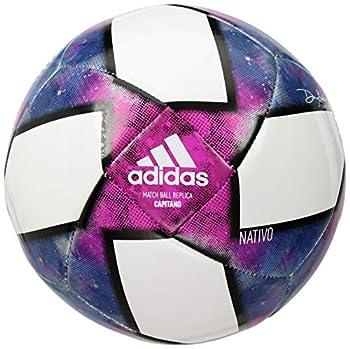 adidas MLS Capitano Soccer Ball White/Black/Purple 5