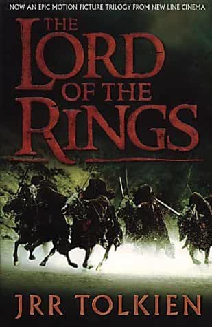 The Lord of the Rings trilogy - one volume paperback (movie cover) by J. R. R. Tolkien (2001-09-03)
