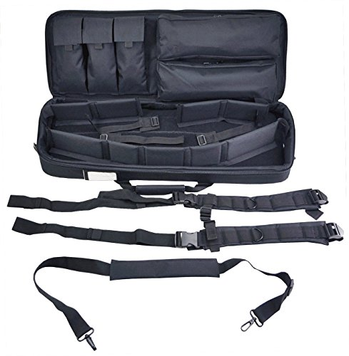 Explorer Mojo Tactical Rifle Case – AR15 Case with Pockets...