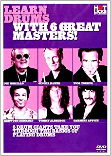 Hot Licks - Learn Drums With 6 Great Masters