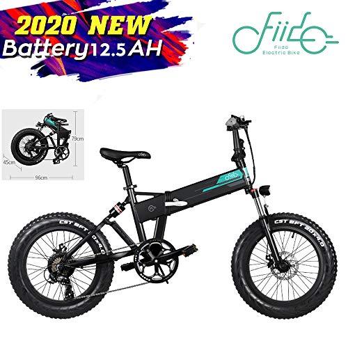 FIIDO M1 Bicicleta de montaña eléctrica Plegable Ruedas de 20