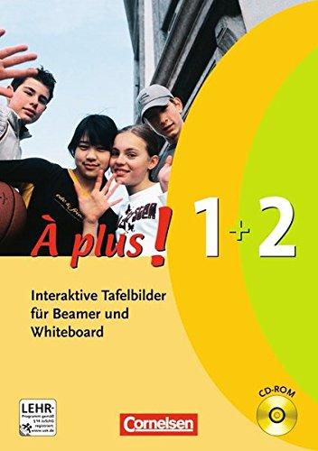 À Plus! Interaktiv - Interaktive Tafelbilder für Beamer und Whiteboard: Band 1/2 - CD-ROM