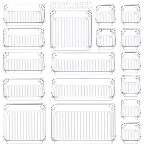 Giom 17 Pack Drawer Organizer, M...