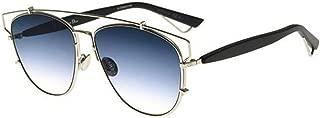 New Christian Dior TECHNOLOGIC 84J/84 Palladium Black/Blue Sunglasses