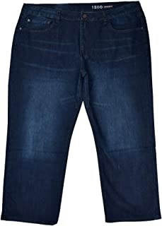 Men's Big & Tall Stretch Denim Relaxed Comfort FIT Jeans Oxford Blue 46 x 30