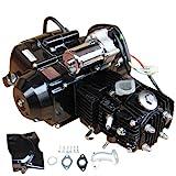 X-PRO 110cc 4-stroke Engine Motor Automatic Transmission w/Reverse, Electric Start for for 50cc 70cc 90cc 110cc Go Kart ATVs