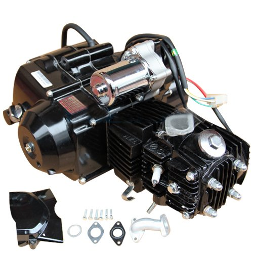 X-PRO 110cc 4-stroke Engine Motor Automatic Transmission w/Reverse, Electric Start for for 50cc 70cc 90cc 110cc Go Kart ATVs
