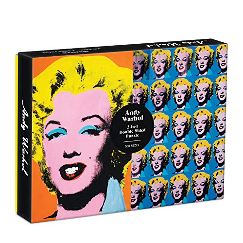 Puzzle - Warhol. Marilyn: 500 Piece- double sided Puzzle