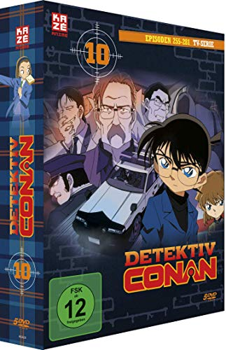 Detektiv Conan - TV-Serie - Vol.10 - [DVD]