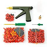 Portable Car Tire Motorcycle Tire Plugger Tubeless Tyre Wheel Repair Gun Kit with Rubber Plugs For Car Bike Motorcycle
