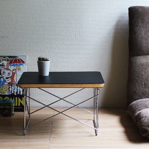 LTR (ミニテーブル)ブラック        【イームズ】【木製】【テーブル】【サイドテーブル】【デザイナー家具】【高品質】【低価格】【リプロダクト】