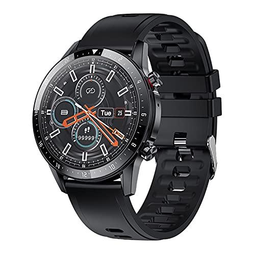 Relojes inteligentes para hombres, reloj con monitor de sueño, relojes Bluetooth con pantalla táctil de 1.3 ', podómetro impermeable IP67, reloj inteligente para teléfonos Android y teléfonos iOS