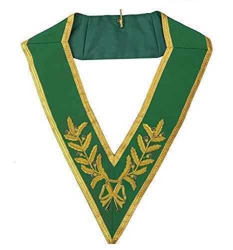 Desconocido Masónico Rito Escocés Allied Grados Mano Bordado Grand Collar