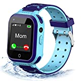 4G Kids Smart Watch,Kids Phone Smartwatch w GPS Tracker,Call,Alarm,Pedometer,Camera,SOS,Touch Screen WiFi Bluetooth Wrist Watch Boys Girsl iPhone iOS Android,3-12 Years Old Children Students Gifts