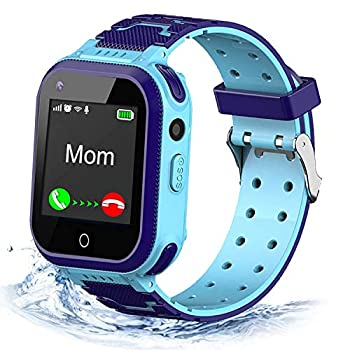 4G Kids Smart Watch,Kids Phone Smartwatch w GPS Tracker,Call,Alarm,Pedometer,Camera,SOS,Touch Screen WiFi Bluetooth Wrist Watch Boys Girsl iPhone iOS Android,3-12 Years Old Children Students Gift