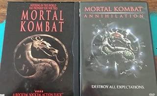 MORTAL KOMBAT + MORTAL KOMBAT: ANNIHILATION DVD 2-Pack (BOTH GREAT MOVIES TOGETHER)