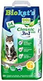 Gimborn Biokat's Classic fresh 3in1 mit Duft - Klumpende Katzenstreu mit 3 unterschiedlichen Korngrößen - 1 Sack (1 x 20 L)
