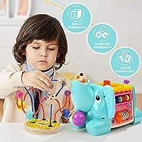 TOP BRIGHT Cubo Multiattività Bambini - Giochi in Legno per Bambini 1 Anno – Cubo Interattivo per Bimbi e Bimbe – Gioco Educativo – Ottima Idea Regalo Bambini #6