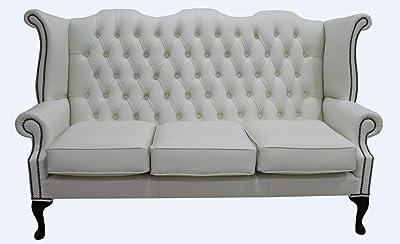 Designer Sofas4u Chesterfield 3 plazas Sofá Cama o sofás ...