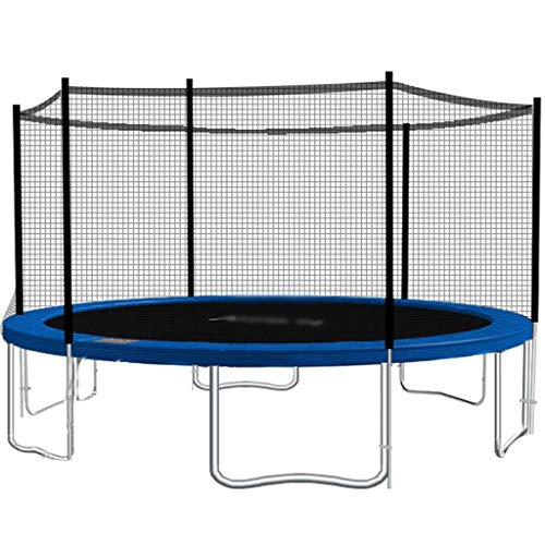 HYJBGGH Trampolini da Esterno Trampolino Elastico Mini Rebounder Trampolino di Casa per Bambini Giochi Trampolino Fitness con Rete di Sicurezza per Cardio, Perdita di Peso