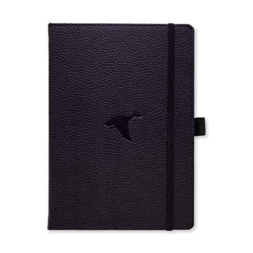 Dingbats A5+ Wildlife Black Duck Notebook - Graph