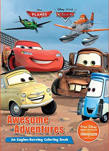 Disney Pixar Awesome Adventures (Disney Planes and Disney Pixar Cars)