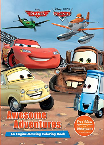 Disney Pixar Awesome Adventures (Cars and Planes) (Disney Planes and Disney Pixar Cars)