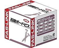 ファスリンク 石膏ボードビス徳用箱 梨地頭 コースタイプ スーパーシルバー 3.8X28