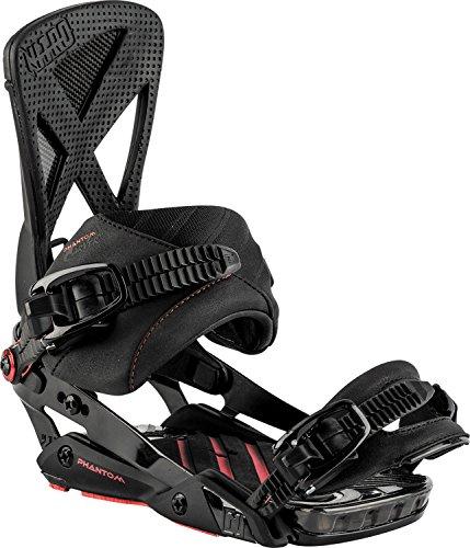 Nitro Snowboards Herren Phantom Carver '18 Snowboard Bindung, Blackout, M