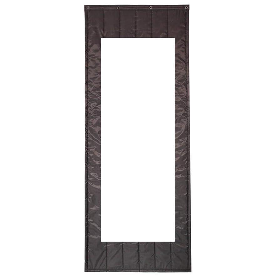 しかし適度に絶対にWUFENG ドアカーテン 厚い 絶縁 防風 耐寒性 暖かく保つ 家庭、 ウィンドウで、 3色 複数のサイズ カスタマイズ可能 (色 : Gray, サイズ さいず : 80x180cm)