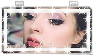 Car Visor Vanity Mirror, Car Makeup Mirror with Lights 60 LED, 3 Light Mode Car Vanity Mirror Type-c Powered, Dimmable Sun...