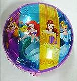 artballoon Globos de 18 pulgadas, princesas Disney, fiestas de cumpleaños para niñas