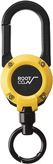 【ROOT CO.】マグネット内蔵カラビナリール GRAVITY MAGREEL 360 (イエロー/グロス)