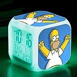 KFGJ Simpson Familie 3D digital kleinen quadratisc