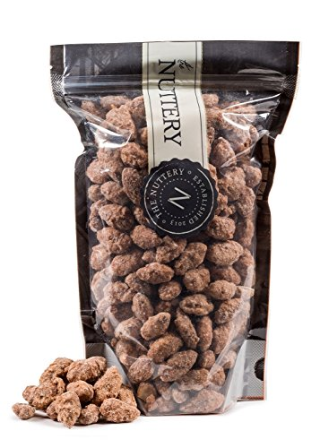The Nuttery Cinnamon Almonds  16oz Pouch Bag 1lb