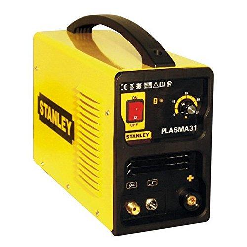 Stanley PLASMA31 Equipo de soldadura de corte por plasma, 2.1 W, 230 V, Amarillo y negro