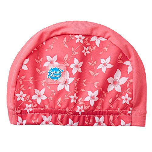 Splash About Kinder Swim Hat S Rosa Blüte