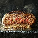 bonbori ( ぼんぼり ) 究極のひき肉で作る 牛100% ハンバーグ (約200g×8個/プレーン) 無添加 / 冷凍ギフト/ お取り寄せ / 贈り物 / 母の日 父の日 ギフト