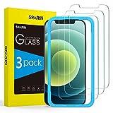 SPARIN [3 Pack] Protector de Pantalla para iPhone 12 / 12 Pro / 11 / XR (6.1'), Cristal Templado para iPhone 12 / 12 Pro / 11 / XR con [Marco de Alineación] [9H Dureza]