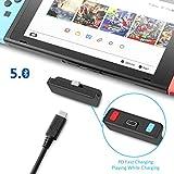FREE Adaptador Bluetooth 5.0 Transmisor De Audio Con Conector USB C APTX De Baja Latencia Compatible Con Airpods PS4 Bose Sony Y Auriculares Bluetooth Para Nintendo Switch