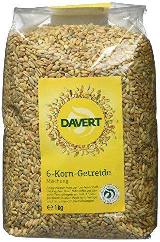 Davert Sechskorn-Getreidemischung (1 x 1 kg) - Bio